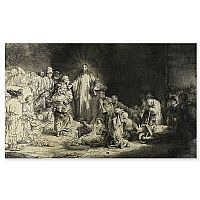 Christ Healing the Sick (Rembrandt)