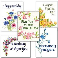 Birthday Watercolors Collection