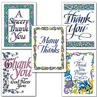 Thank You Calligraphy Collection