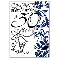 Congrats on Your Marriage of 30 Years