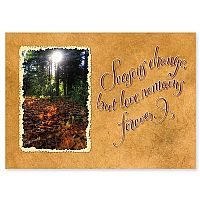 Seasons Change But Love Remains Forever