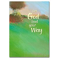 Let God Lead Your Way