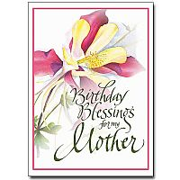 Birthday Blessings for My Mother