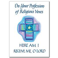 On Your Profession of Religious Vows