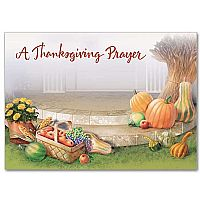 Thanksgiving Prayer Card