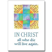 In Christ All Who Die...
