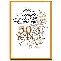 Congratulations as You Celebrate 50 Years