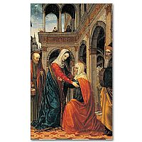 Visitation of the Virgin Mary to St Elizabeth