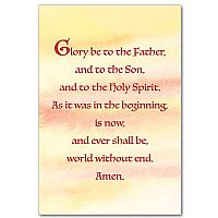 Glory Be to the Father