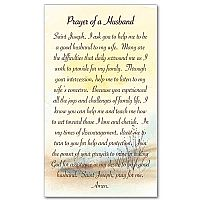 Prayer of a Husband