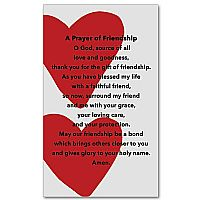 A Prayer of Friendship