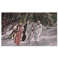 Disciples on Road to Emmaus (Tissot)