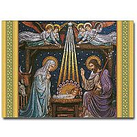 Beuronese Nativity Mosaic