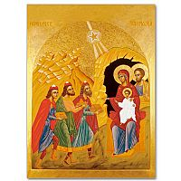 Adoration of the Magi Icon Image