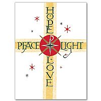 Peace Hope Light Love