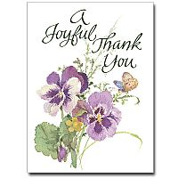 A Joyful Thank You