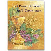A Prayer for Your First Communion