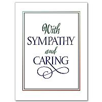 With Sympathy and Caring