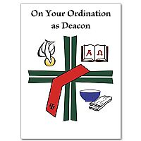 On Your Ordination as Deacon