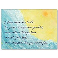 Fighting Cancer Is a Battle