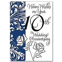 Warm Wishes on Your 10th Wedding Anniversary