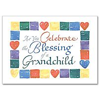 As You Celebrate the Blessing of a Grandchild