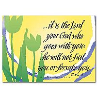 God Who Goes with You