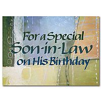 For a Special Son-in-Law