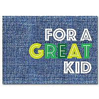 For a Great Kid