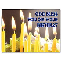 God Bless You on Your Birthday