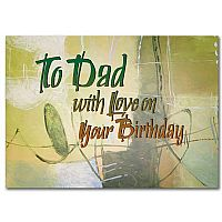 To Dad With Love on Your Birthday