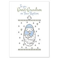 To You Great-Grandson on Your Baptism