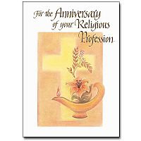 For the Anniversary of Your Religious Profession