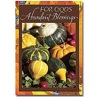 For God's Abundant Blessings