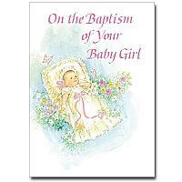 On the Baptism of Your Baby Girl