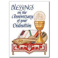 Blessings on the Anniversary of Your Ordination