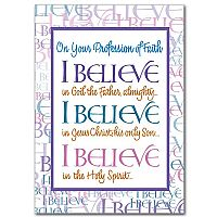 On Your Profession of Faith: I Believe