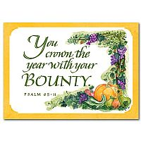 You Crown the Year with Your Bounty
