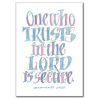 One Who Trusts in the Lord Is Secure