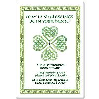 Irish Blessings Be in Your Heart