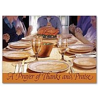 A Prayer of Thanks and Praise