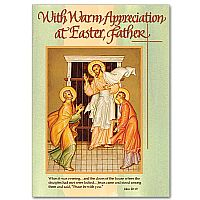 With Warm Appreciation at Easter, Father