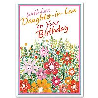 With Love Daughter-in-Law on Your Birthday