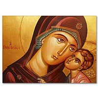 Madonna and Child Icon Image