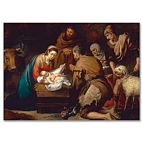 Murillo Adoration of the Shepherds