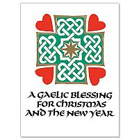 A Gaelic Blessing for Christmas and the New Year
