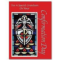 For A Special Grandson On Your Confirmation Day