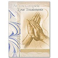 As You Complete Your Treatments