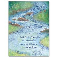 With Caring Thoughts as You Take This Step Toward Healing