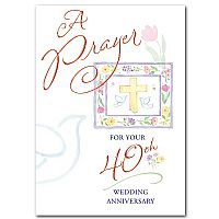 A Prayer for Your 40th Wedding Anniversary